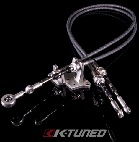 K-Tuned Race-Spec Shifter Cables K24Z7 Trans w/RSX-S Selector