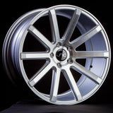 JNC Wheels JNC024 Silver Machine Face
