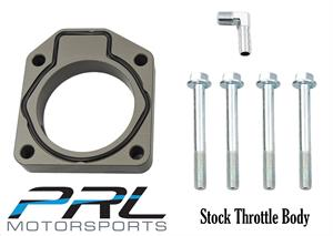 PRL Motorsports Throttle Body Adapter for RBC, CTE Supercharger or K24Z3/7