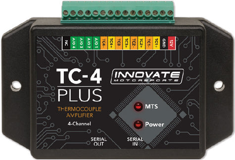 Innovate Motorsports TC-4 PLUS: 4 Channel Sensor Interface