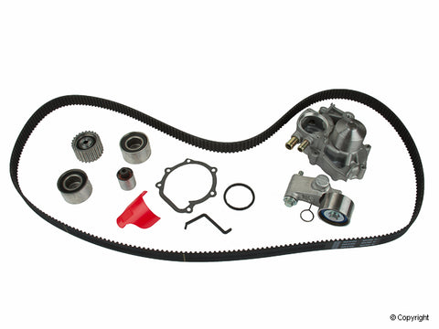 Gates Timing Belt Component Kit w/ Water Pump - Subaru 06-07 WRX & 04-10 STi & 05-09 LGT  TCKWP328