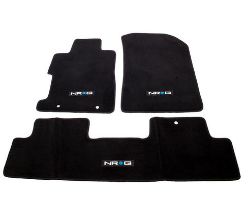 RG (FMR-151)  FLOOR MATS; W/ NRG LOGO; 3 PIECES