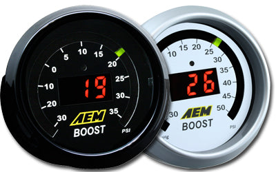 AEM 52mm Digital Boost Display Gauge