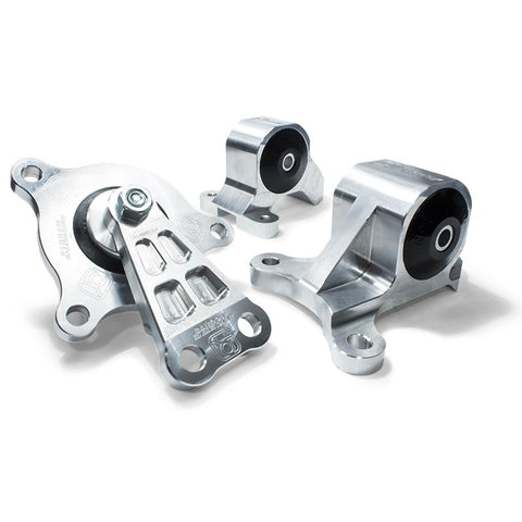 Innovative 02-06 Acura RSX K-Series Silver Aluminum Mounts (Not K24 Trans) B90650