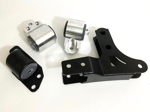 Hasport Mounts 92-95 Civic / 93-97 Del Sol / 94-01 Integra AWD B-Series Mount Kit (3-bolt Left) with rear bracket