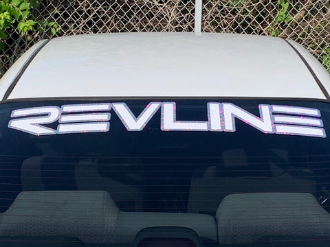 Unicorn Shimmer Revline Window Decal