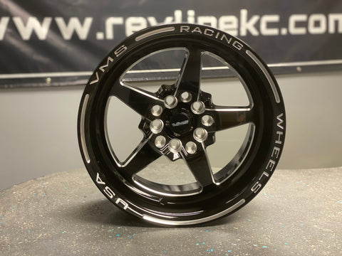 VMS RACING V-STAR DRAG RACE WHEEL 13X9 5X100 / 5X114.3