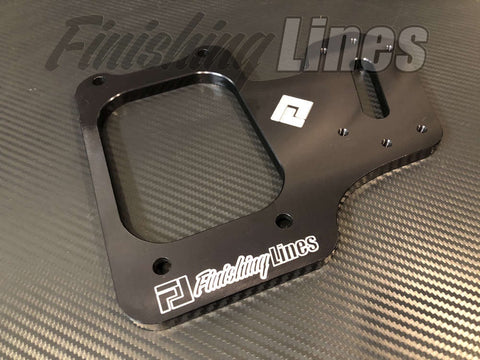 Finishing Lines B/D Series Staging Brake Mounting Plate (Black)