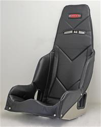 Kirkey Racing Fabrication SEAT COVER - 5515001 BLACK VINYL - FITS 55150