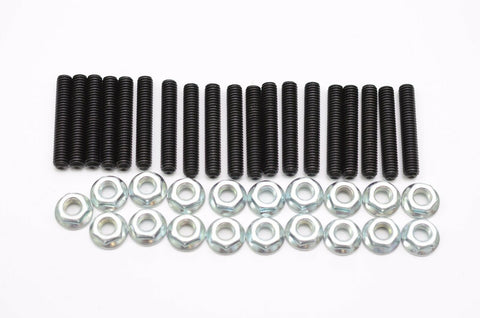 Extended Oil Pan Stud Kit with Locking Nuts