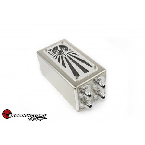 SpeedFactory Racing Rising Sun Oil Catch Can