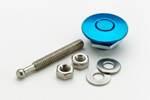 Quik-Latch QL-25-BU Blue Anodized Minis