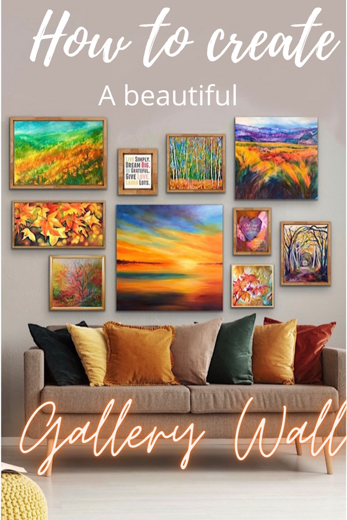How to create a beautiful gallery wall & bring 'wow' to your interior