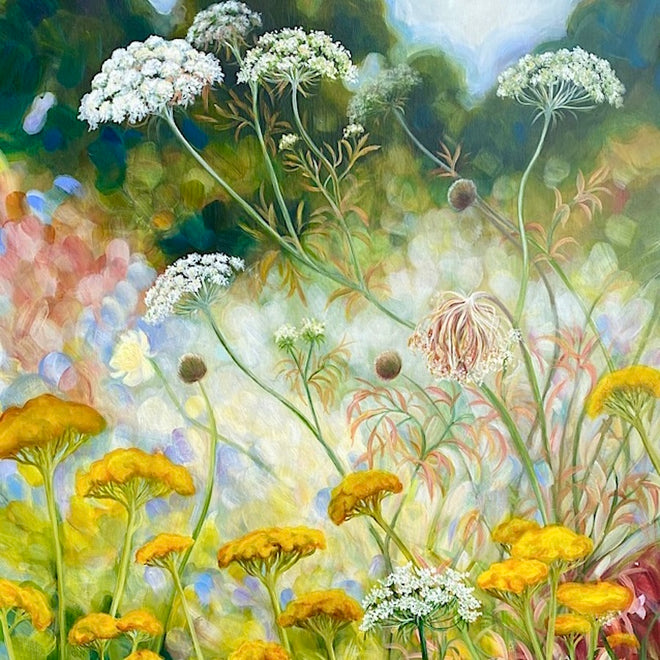 GARDEN & MEADOW PAINTINGS