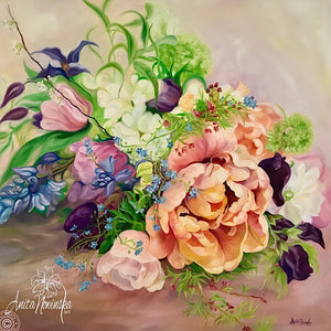 FLOWER BOUQUET PAINTINGS