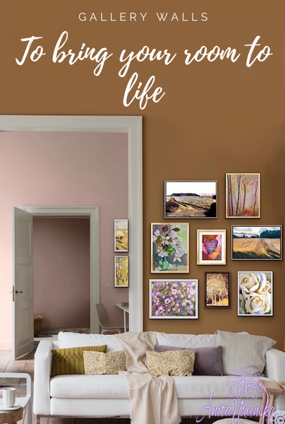 how to hang a gallery wall for living room wow, Anita Nowinska