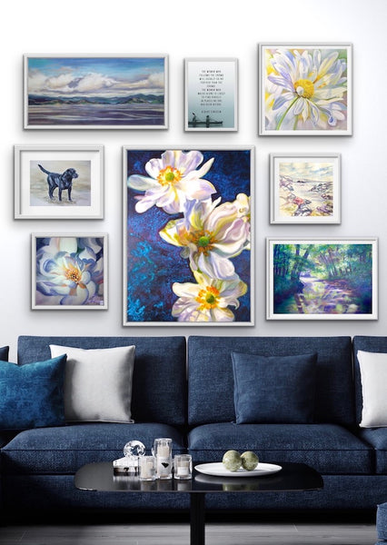how to hang a wow factor gallery wall-anita nowinska