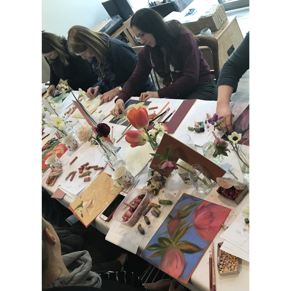 GARDENS & FLOWERS an Art, painting workshop in South Devon,  6th-10th May 2019