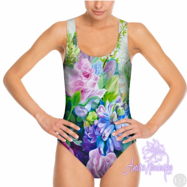 FLORAL SWIMSUITS