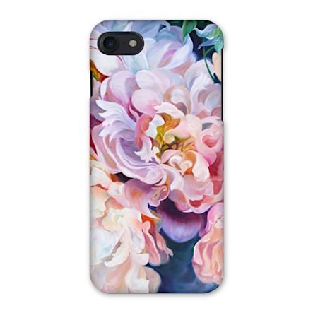 designer floral iphone case, samsung galaxy case, anita nowinska flower paintings, peonies