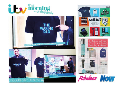 This Morning ITV Parent Apparel Dad's T-shirts