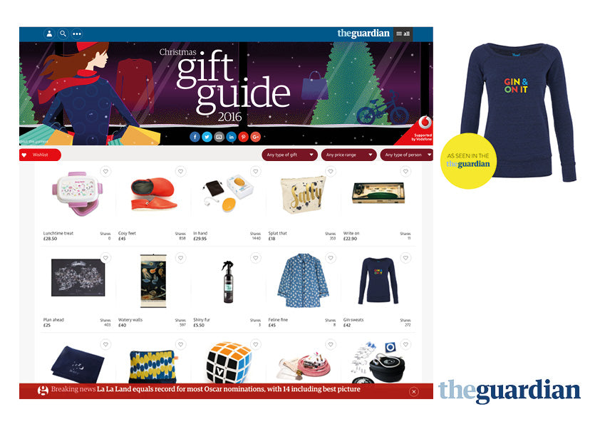 Guardian Christmas Gift Guide 2016 Parent Apparel