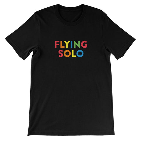Flying Solo Unisex Short Sleeve T-Shirt