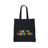 Are We There Yet Large Canvas Shopper Bag - Parent Apparel Ltd - 1