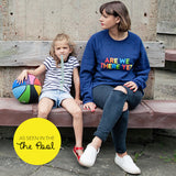 ARE WE THERE YET? Ladies Sweatshirt - Parent Apparel Ltd