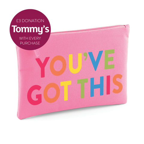 YOU'VE GOT THIS Pouch (four colours available)