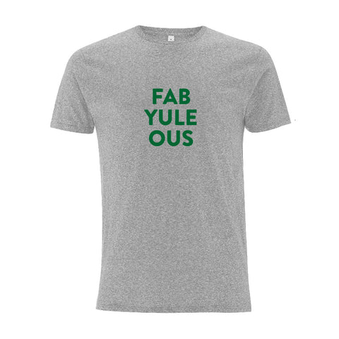FAB YULE OUS Men's Christmas gift tshirt Parent Apparel