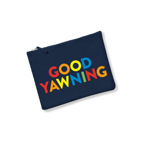 GOOD YAWNING Accessories pouch navy - Parent Apparel Ltd
