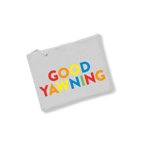 GOOD YAWNING Accessories pouch grey - Parent Apparel Ltd