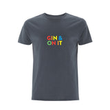GIN & ON IT Men's TShirt light charcoal - Parent Apparel Ltd