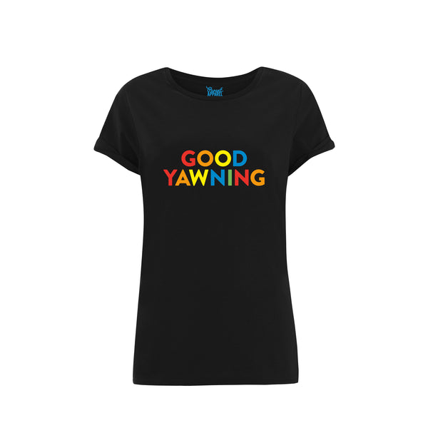 Good Yawning Rolled Sleeved Women's T-Shirt