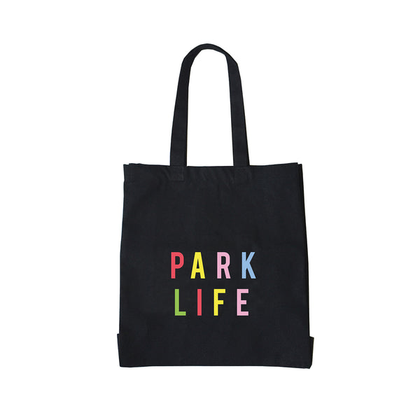 PARK LIFE Large Canvas Shopper Bag