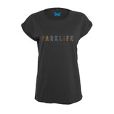 PARKLIFE Embroidered Rolled Sleeved Women's T-Shirt