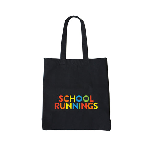 School Runnings Large Canvas Shopper Bag - Parent Apparel Ltd