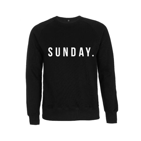 Style Me Sunday SUNDAY sweatshirt - Parent Apparel Ltd
