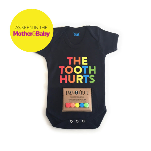 The Tooth Hurts: Lara & Ollie + Parent Apparel Mother | Baby Gift Set