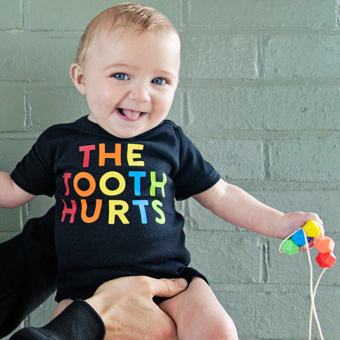 The Tooth Hurts: Lara & Ollie + Parent Apparel Mother/ Baby Gift Set - Parent Apparel Ltd - 1