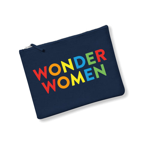 WONDER WOMEN Canvas Pouch