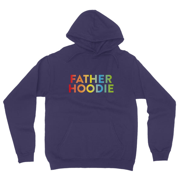 Father Hoodie Fleece Pullover Hoodie
