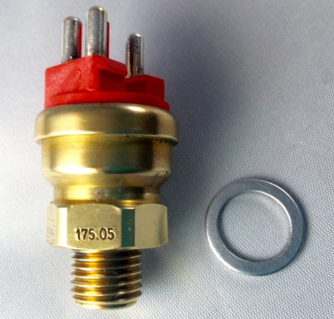 "NEW ORIGINAL MERCEDES-BENZ   "" TEMPERATURE SENSOR"" 3 POLE RED W201-190D 2.2 190E 2.3-16 190E 2.3"