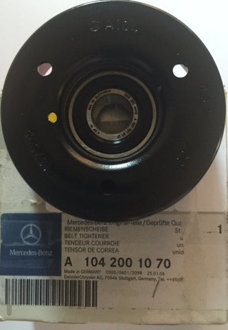 NEW  METAL  BELT  PULLEY  ORIGINAL  MERCEDES-BENZ  W124 C202 W140  SL320  S320  E320  C280  300TE  300E  300CE CONVERTIBLE