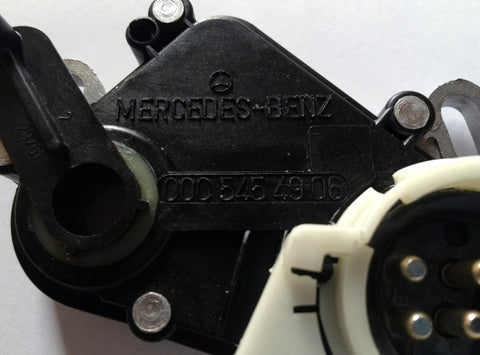 NEW GENUINE  MERCEDES-BENZ  NEUTRAL  SAFETY  SWITCH  R107  W126  W124  W123  380SL  380SLC  560SL  300D-T  500SEC  300SEL  420SEL  560SEL  500SEL  300SD  350SD  300E  E320  E420  E500