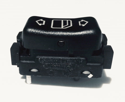 WINDOW SWITCH RIGHT REAR W124 NEW GENUINE MERCEDES BENZ E320 COUPE 320 CE COUPE  E36 AMG CONVERTIBLE E36 AMG COUPE 300 CE 3.4 AMG 250D TURBO E250 TURBO 500E 6.0 AMG E500 AMG 500E E500