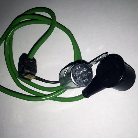 NEW GENUINE MERCEDES-BENZ  IGNITION  CONDENSER  LONG  GREEN  WIRE  230  W123.023   MODEL YEAR  1974, 1975, 1976, 1977, 1978