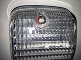NEW GENUINE MERCEDES-BENZ BACK-UP LIGHT LENS  W/ SEAL RIGHT & LEFT   FITS  USA  &  EUROPEAN  MODELS  300TD WAGON 300TD-TURBO WAGON