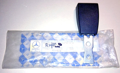 NEW GENUINE MERCEDES-BENZ GERMANY SEAT BELT HOLDER BUCKLE RECEIVER RIGHT FRONT PART # 126 860 14 69 W126 300SD 380SEL 380SE 500SE 500SEL 500SEC